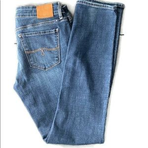 Lucky Brand Lolita skinny medium wash jean s:6/28